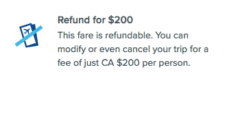 Targeted by fare type